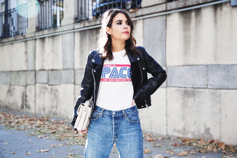 Rebecca Minkoff Space Tee and jeans by Collage Vintage