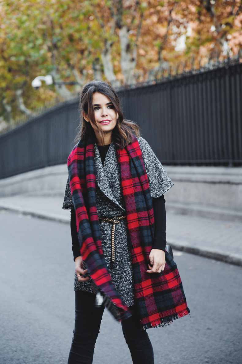 Be_Belted-Tartan_Scarf-Booties_Eden-Outfit-Collage_Vintage-Street_Style-