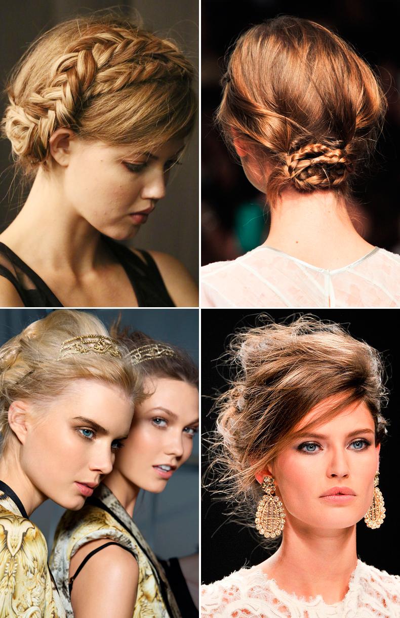 peinados de fiesta | Collage Vintage