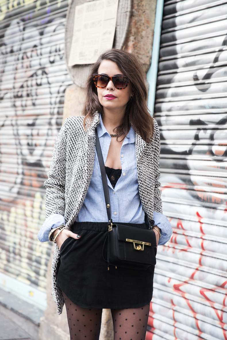 Suede_Skirt-Black_And_White_Coat-Street_Style-Outfits-Collage_Vintage-Plumetti-Wolford-9