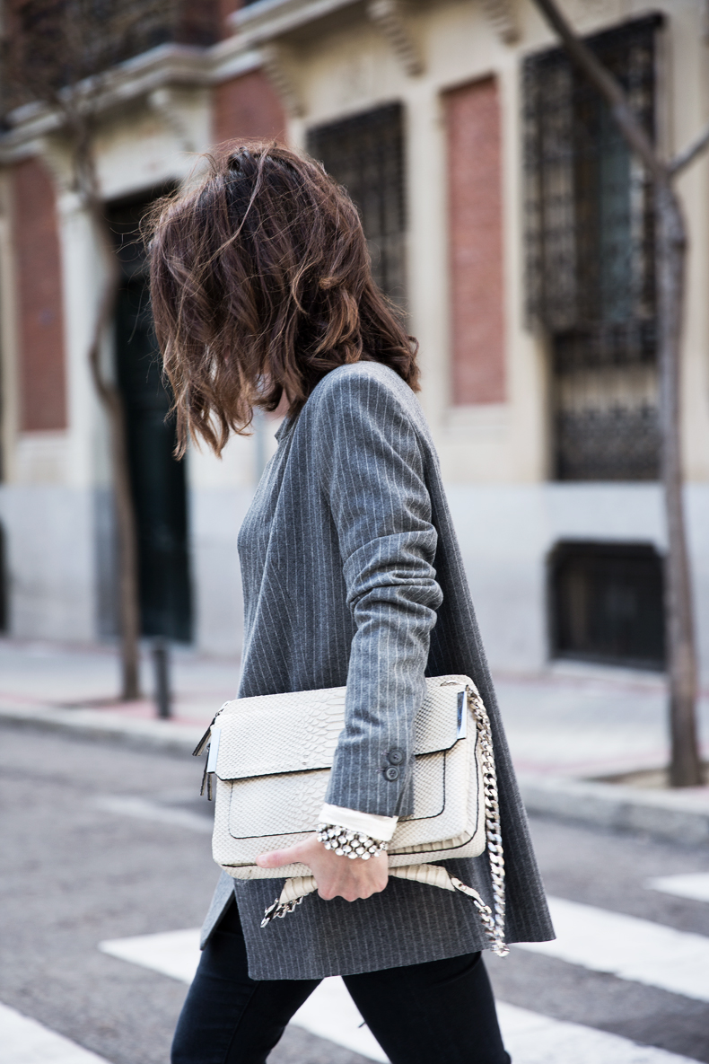 Pinstripe_Blazer-Outfit-Grey_Shoes-Jeans-Snake_Bag-collage_Vintage-street_Style-outfit-24