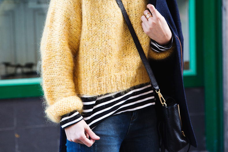 Yellow_Sweater-Striped_Top-Jeans-Flippa_K-Coat-Girissima-Street_Style-Loafers-Outfit-35