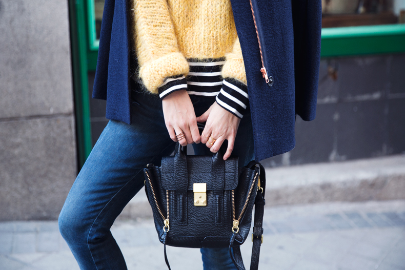 Yellow_Sweater-Striped_Top-Jeans-Flippa_K-Coat-Girissima-Street_Style-Loafers-Outfit-34