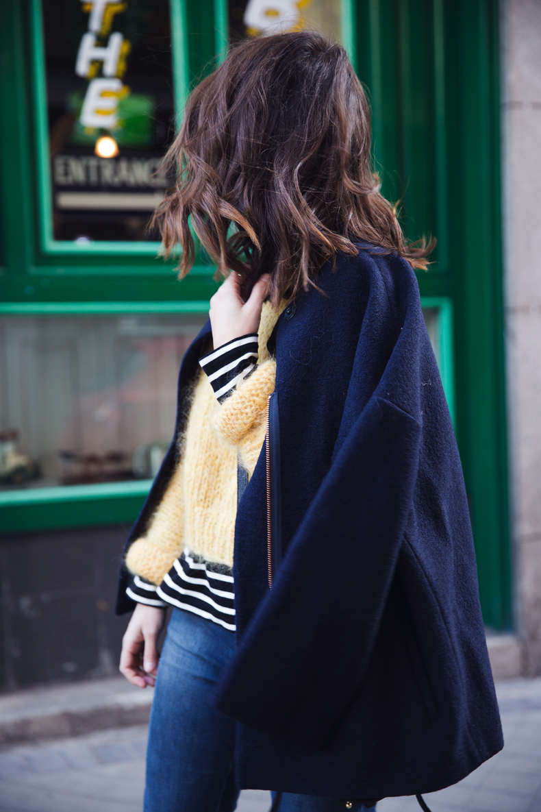 Yellow_Sweater-Striped_Top-Jeans-Flippa_K-Coat-Girissima-Street_Style-Loafers-Outfit-22