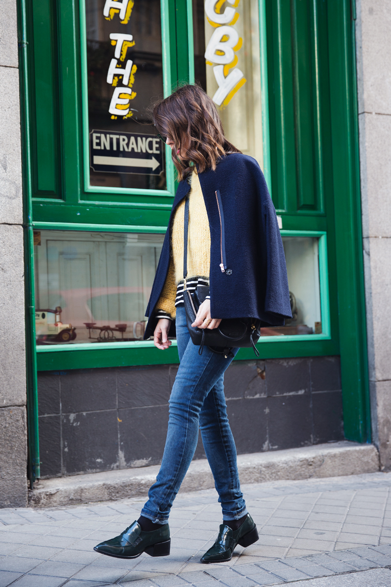 Yellow_Sweater-Striped_Top-Jeans-Flippa_K-Coat-Girissima-Street_Style-Loafers-Outfit-17