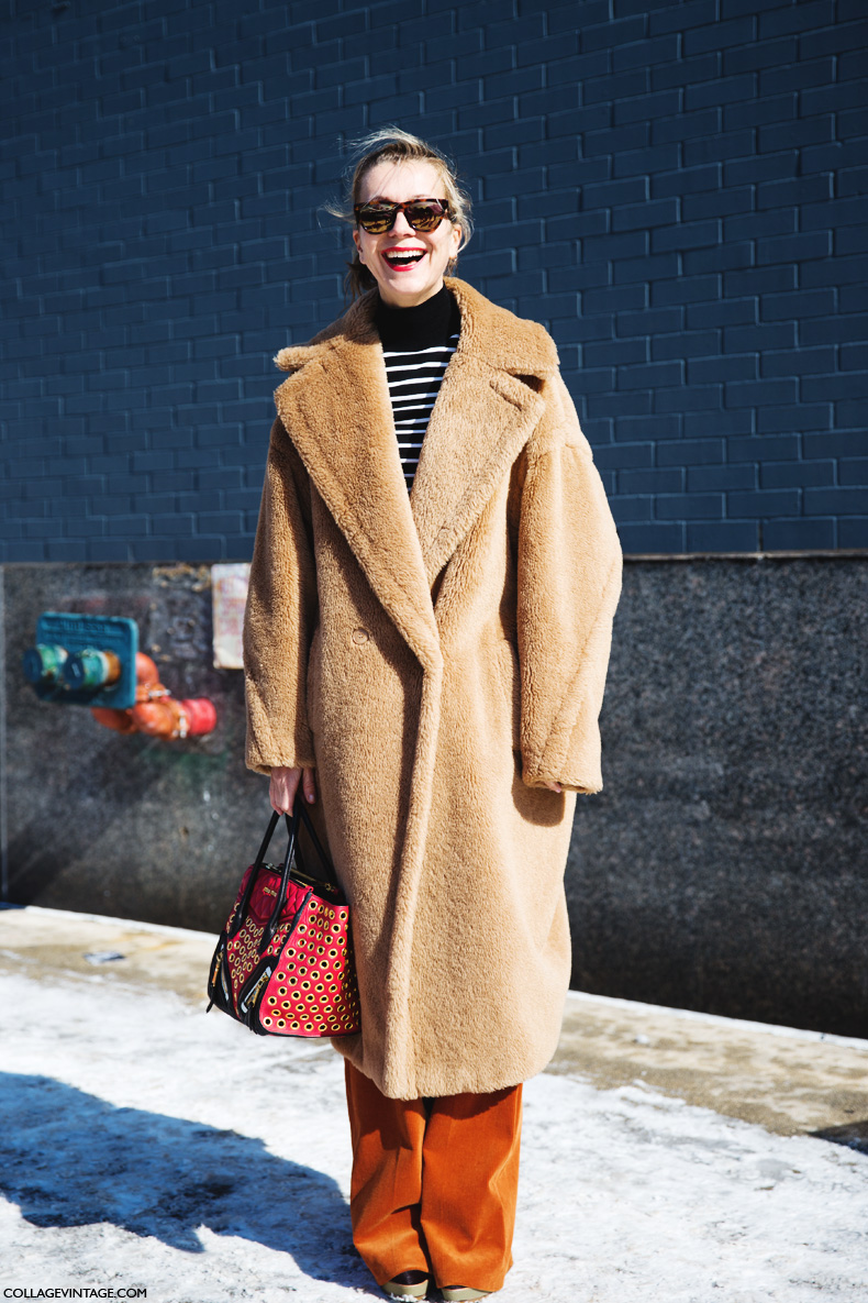 New_York_Fashion_Week-Street_Style-Fall_Winter-2015-Natalie_Joos-Fur_Coat-Brown-Miu_MIU-