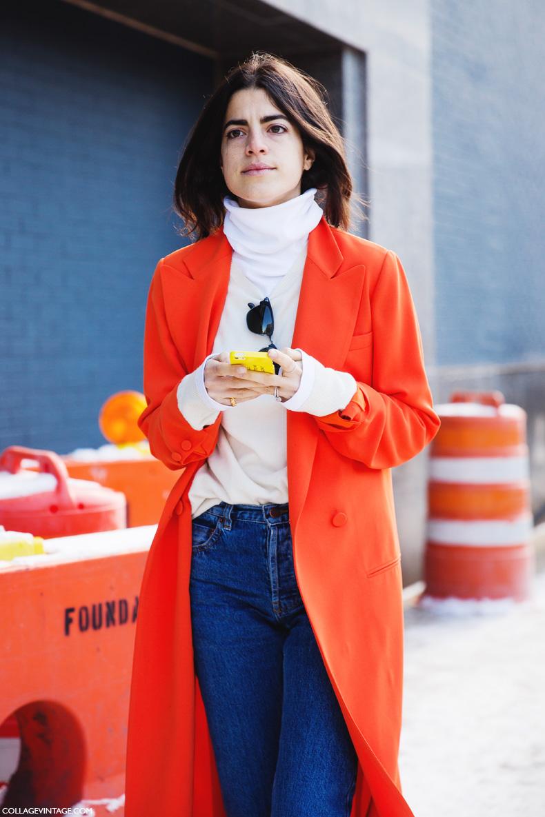 New_York_Fashion_Week-Street_Style-Fall_Winter-2015-Jeans-Long_Blazer-Orange-Turtleneck-Man_Repeller-LEandra_Medine-1