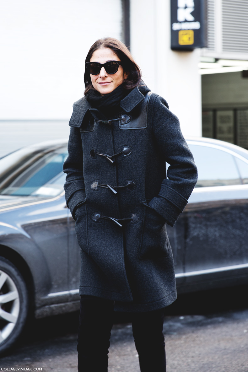 New_York_Fashion_Week-Street_Style-Fall_Winter-2015-Duffle_Coat-Capuccine-1