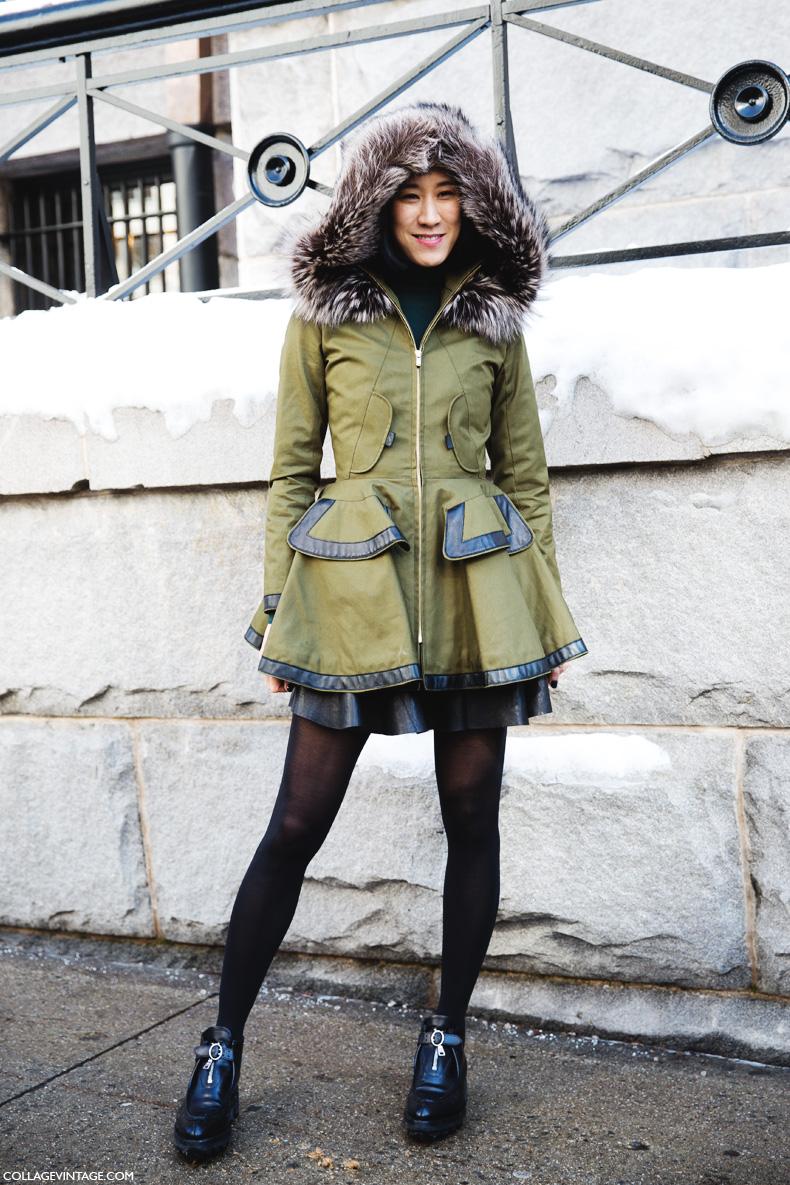 New_York_Fashion_Week-Street_Style-Fall_Winter-2015-Eva_Chen-Parka