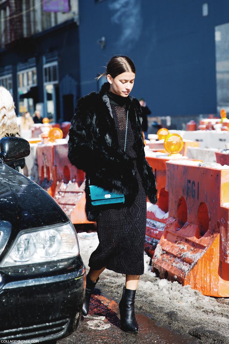 New_York_Fashion_Week-Street_Style-Fall_Winter-2015-Amanda_Weiner-Fur_Coat-Midi_Skirt-Black_Boots-