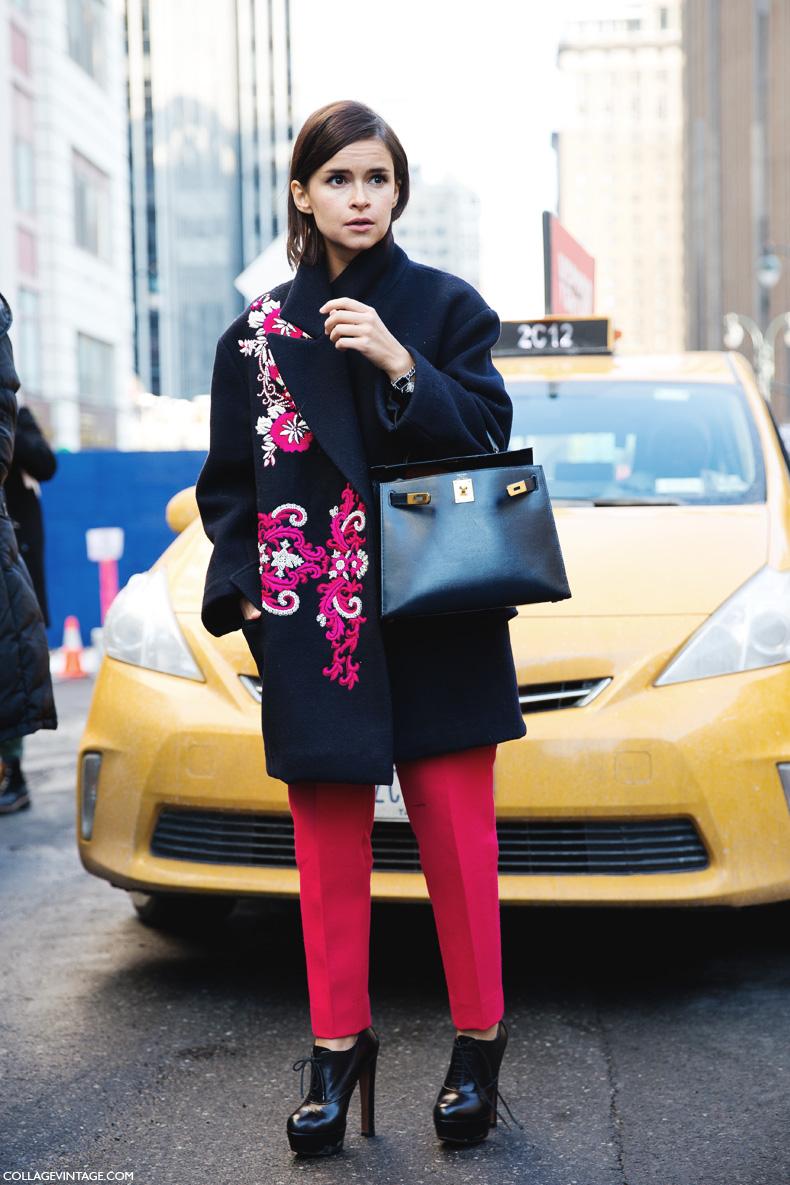 New_York_Fashion_Week-Street_Style-Fall_Winter-2015-Miroslava_Duma-Red_Trousers-2