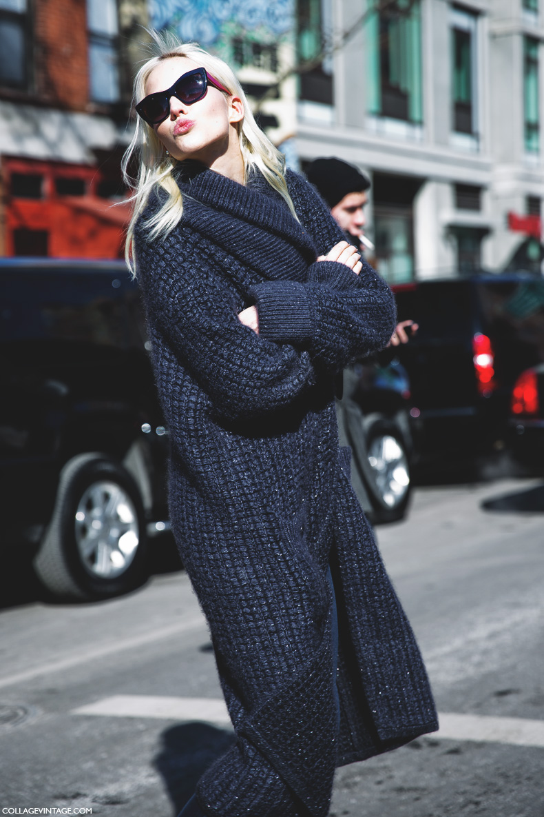 New_York_Fashion_Week-Street_Style-Fall_Winter-2015-Model_Maxi_Coat-Rodarte