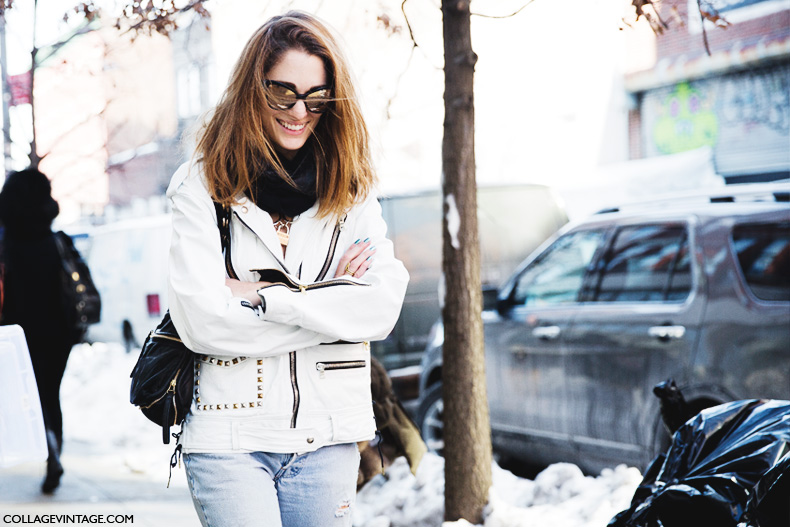 New_York_Fashion_Week-Street_Style-Fall_Winter-2015-Sofia_Sanchez-Biker_Jacket-
