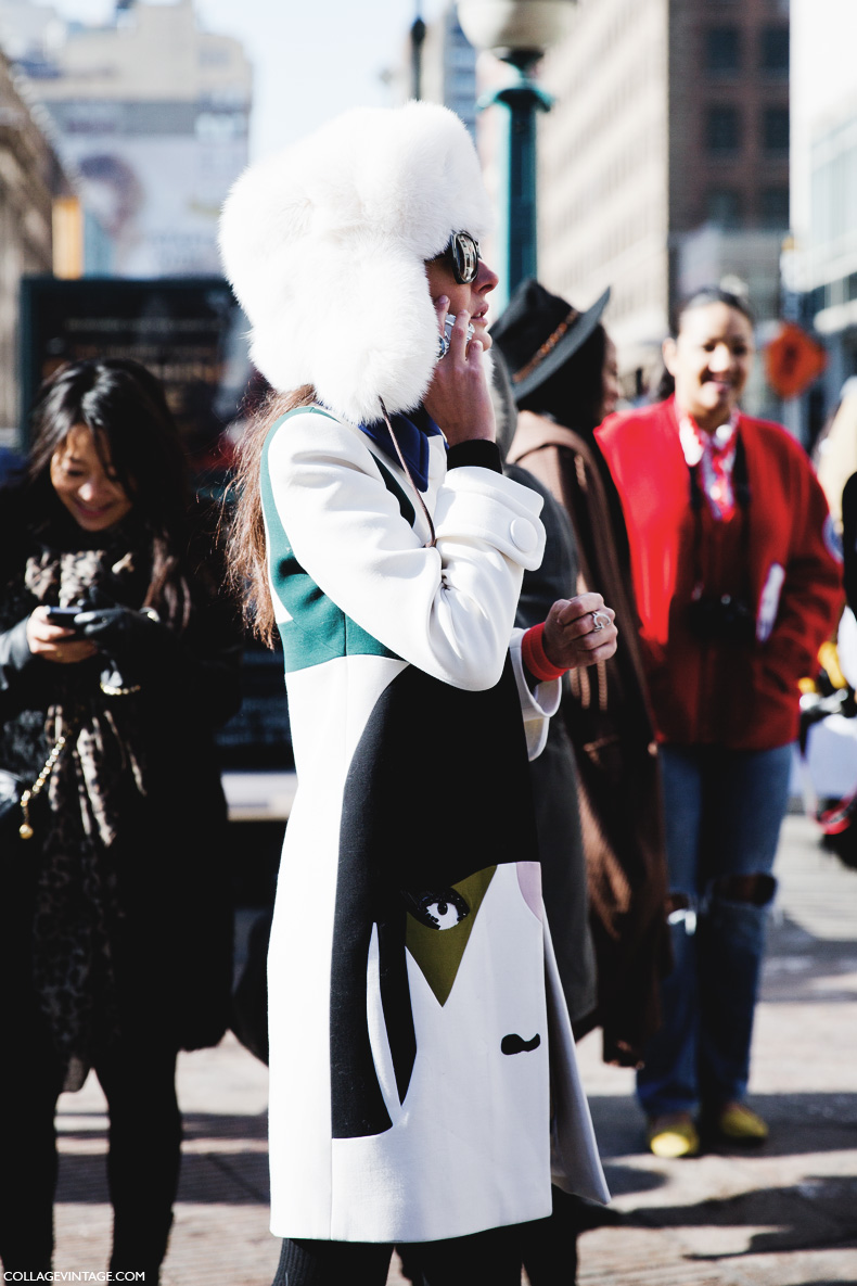 New_York_Fashion_Week-Street_Style-Fall_Winter-2015-Giovanna_Battaglia-Fur_HAt-