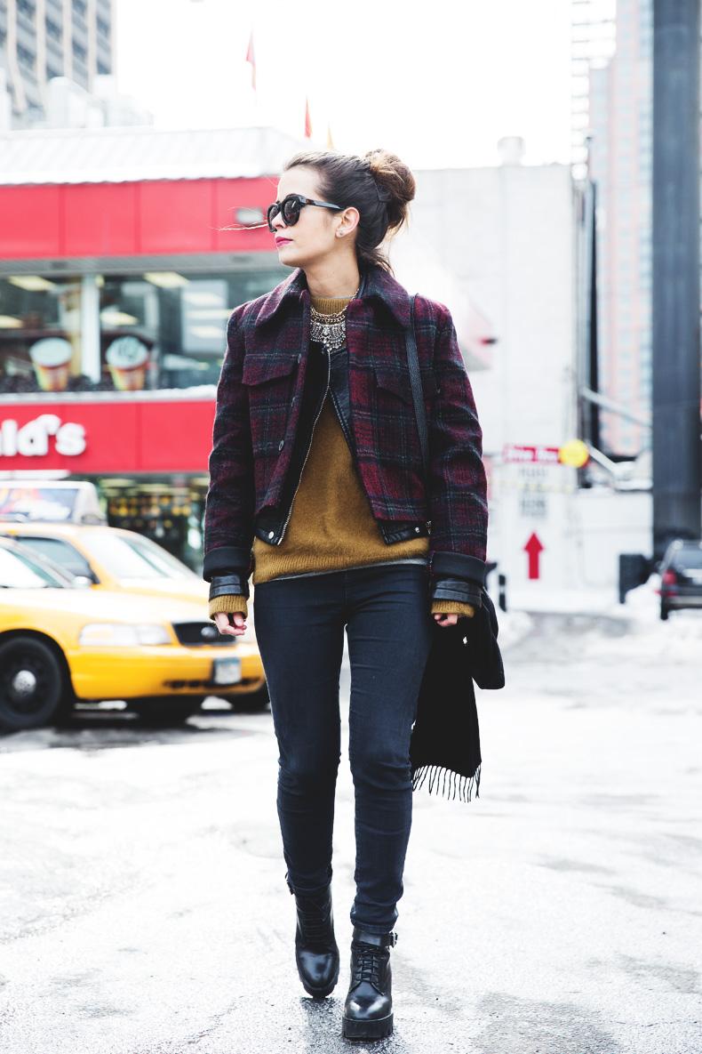 Neoprene_Jacket-GReen_Jumper-Outfit-NYFW-Street_Style-6