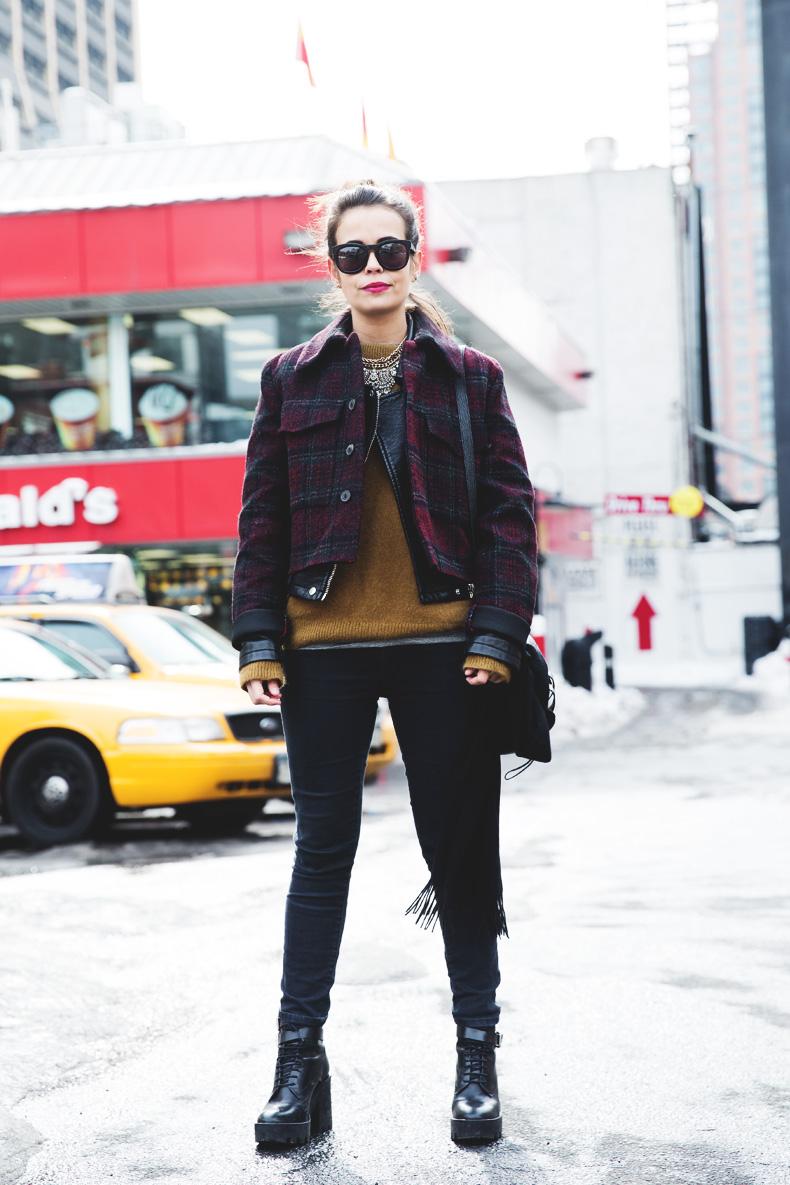 Neoprene_Jacket-GReen_Jumper-Outfit-NYFW-Street_Style-8