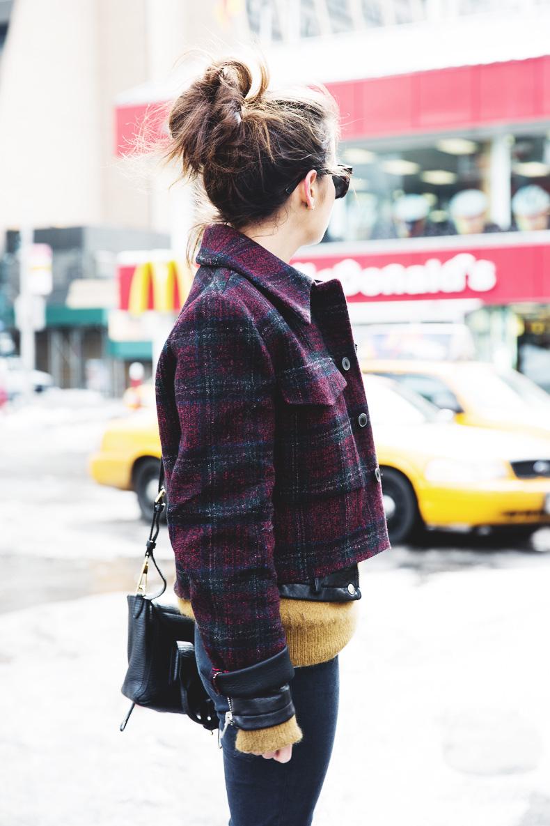 Neoprene_Jacket-GReen_Jumper-Outfit-NYFW-Street_Style-4