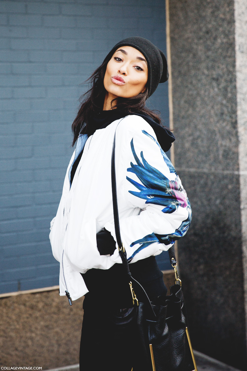 New_York_Fashion_Week-Street_Style-Fall_Winter-2015-Model_Kiss-Bomber