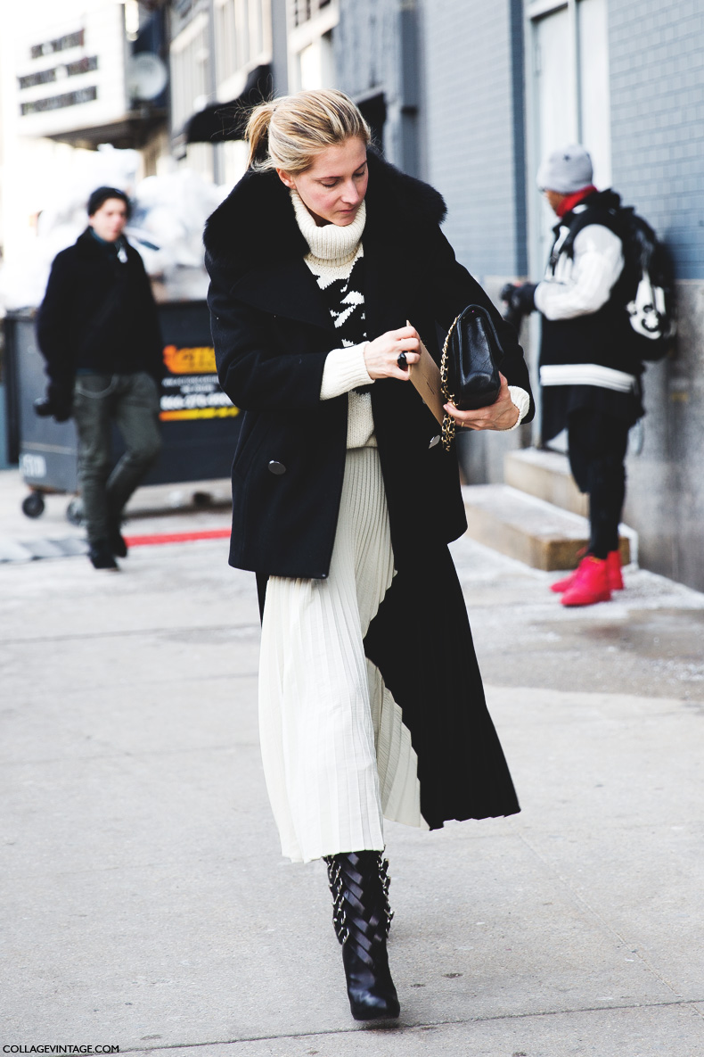 New_York_Fashion_Week-Street_Style-Fall_Winter-2015-Maria_Laudarel-White_Scarf-