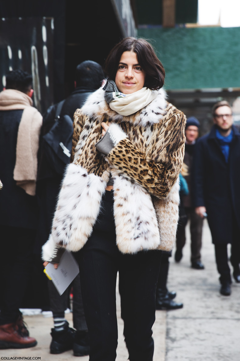 New_York_Fashion_Week-Street_Style-Fall_Winter-2015-Fur_Coat-Animal_Print-Leandra_Medine-Man_Repeller-