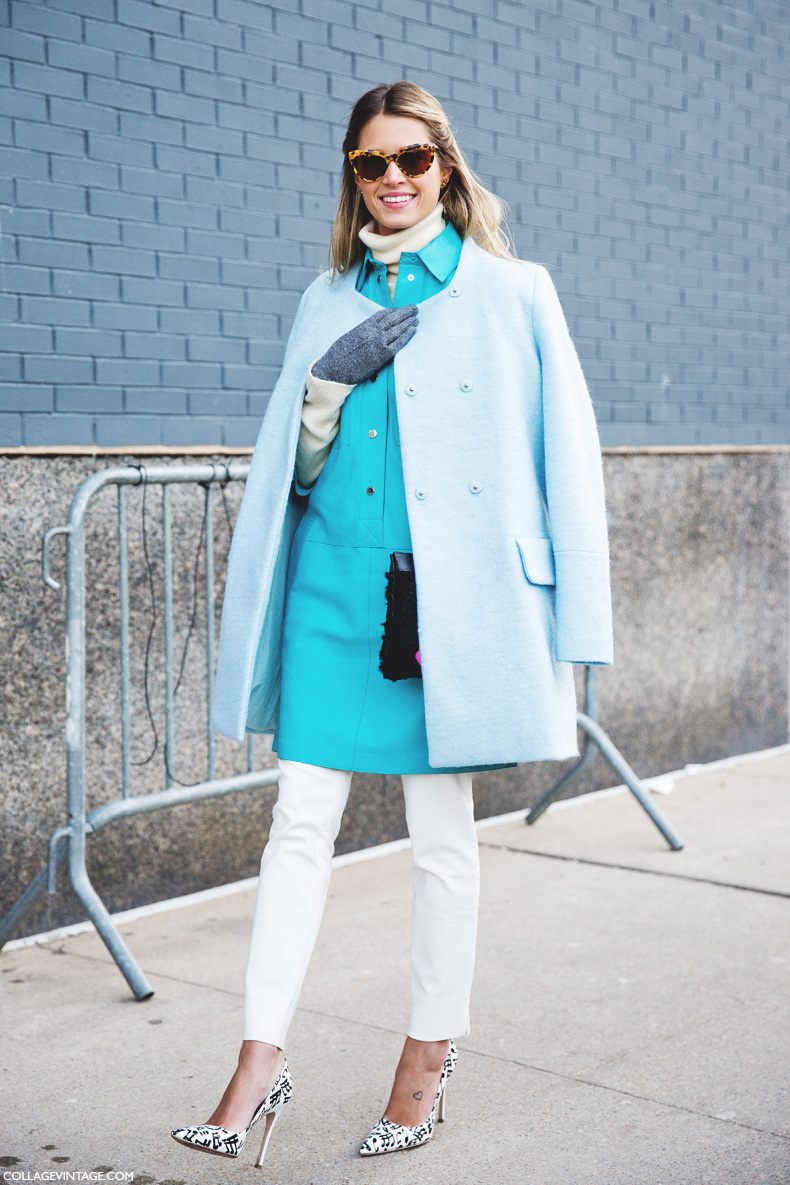 New_York_Fashion_Week-Street_Style-Fall_Winter-2015-Helena_Bordon-Light-Blue-