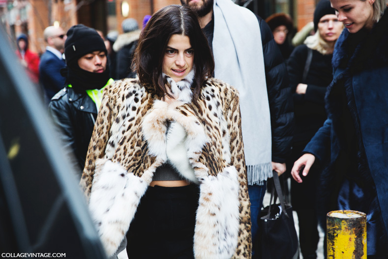 New_York_Fashion_Week-Street_Style-Fall_Winter-2015-Fur_Coat-Animal_Print-Leandra_Medine-Man_Repeller-2
