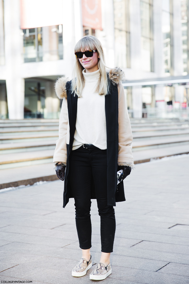 New_York_Fashion_Week-Street_Style-Fall_Winter-2015-White-Slips_On-
