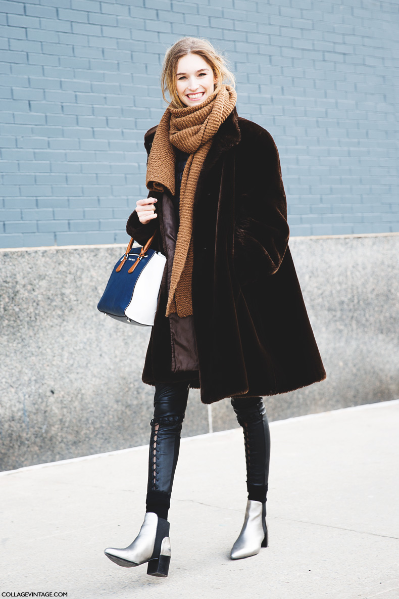 New_York_Fashion_Week-Street_Style-Fall_Winter-2015-Fur_Coat-1