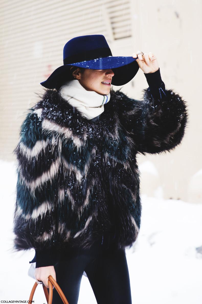 New_York_Fashion_Week-Street_Style-Fall_Winter-2015-leandra_medine-fur_coat-