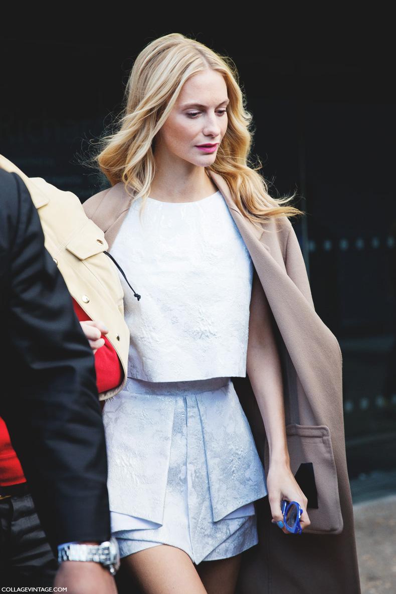 London_Fashion_Week-Street_Style-Fall_Winter_14-Poppy_Delevigne-Topshop_Unique-Shorts-Blue_Sunglasses-