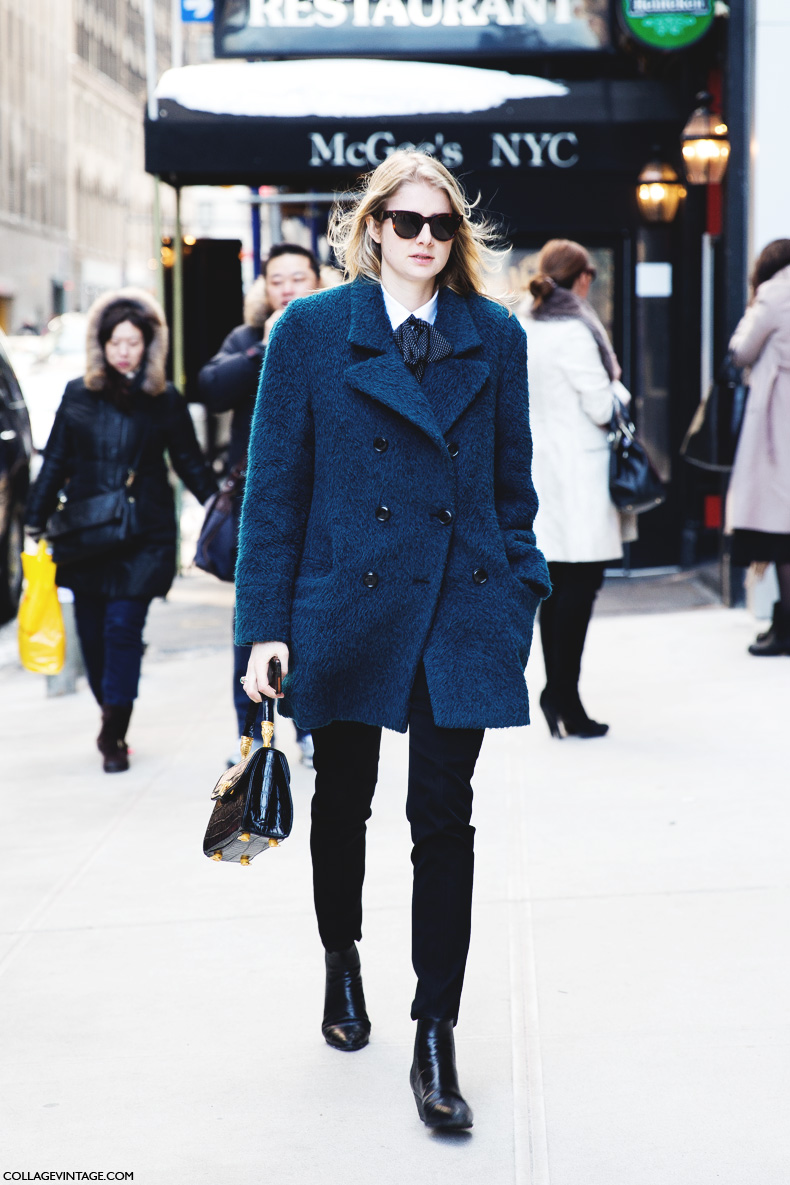 New_York_Fashion_Week-Street_Style-Fall_Winter-2015-Model-Blue-Coat