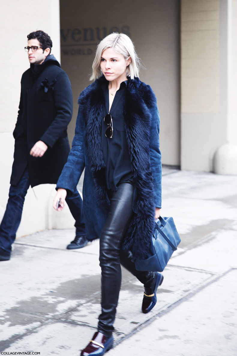 New_York_Fashion_Week-Street_Style-Fall_Winter-2015-Emily_Weiss-Blue_And_Black-