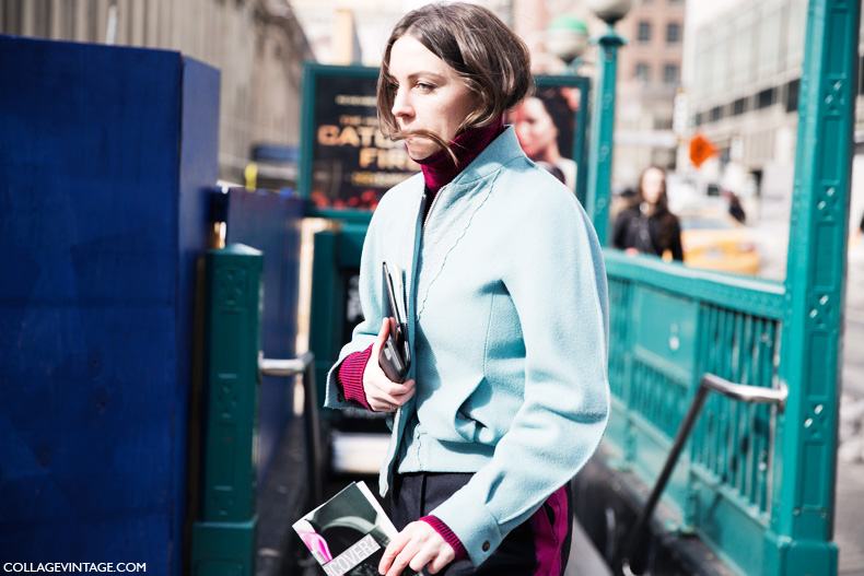 New_York_Fashion_Week-Street_Style-Fall_Winter-2015-pastel_blue-jacket