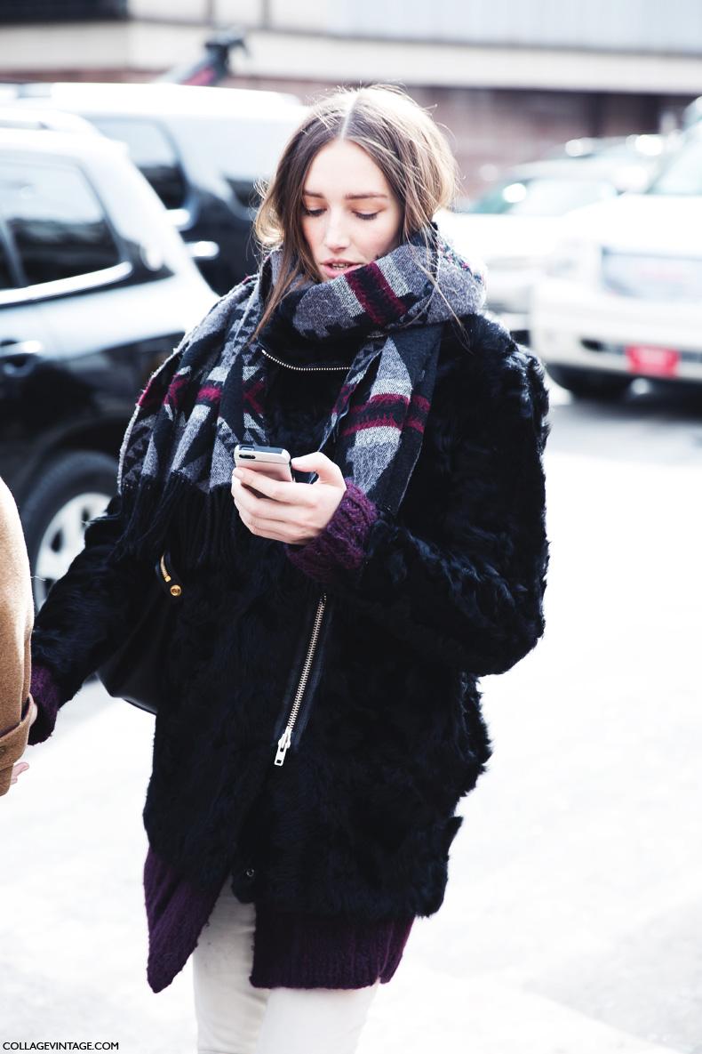 New_York_Fashion_Week-Street_Style-Fall_Winter-2015-MOdel_Coat-Scarf-