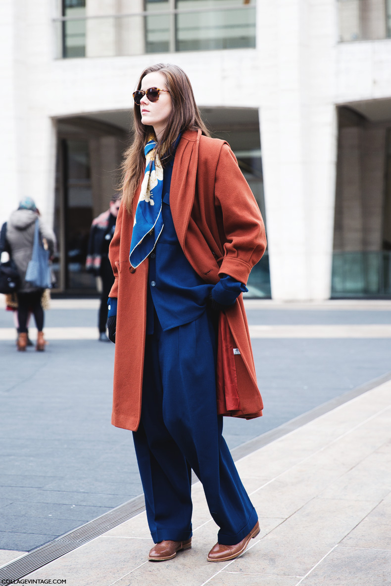 New_York_Fashion_Week-Street_Style-Fall_Winter-2015-Vintage_Outfit-