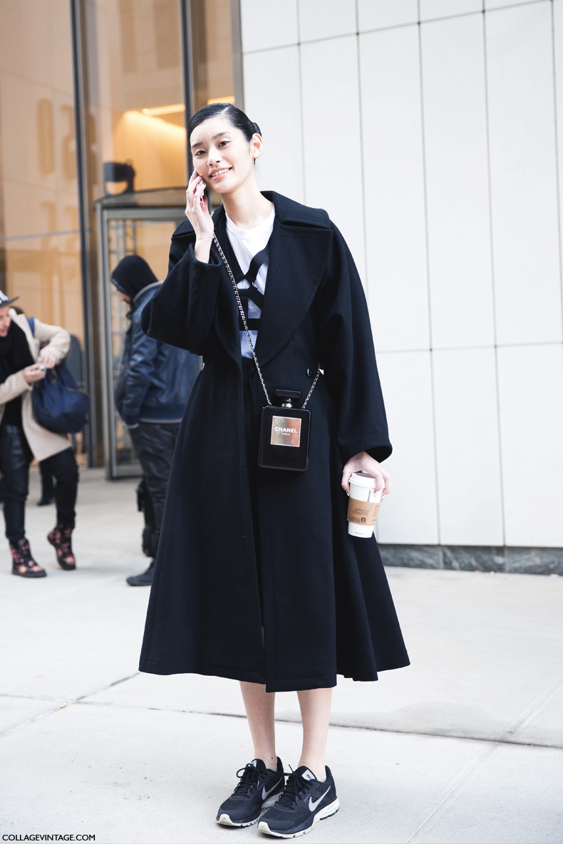New_York_Fashion_Week-Street_Style-Fall_Winter-2015-Sporty_Chic-Chanel_Bag-
