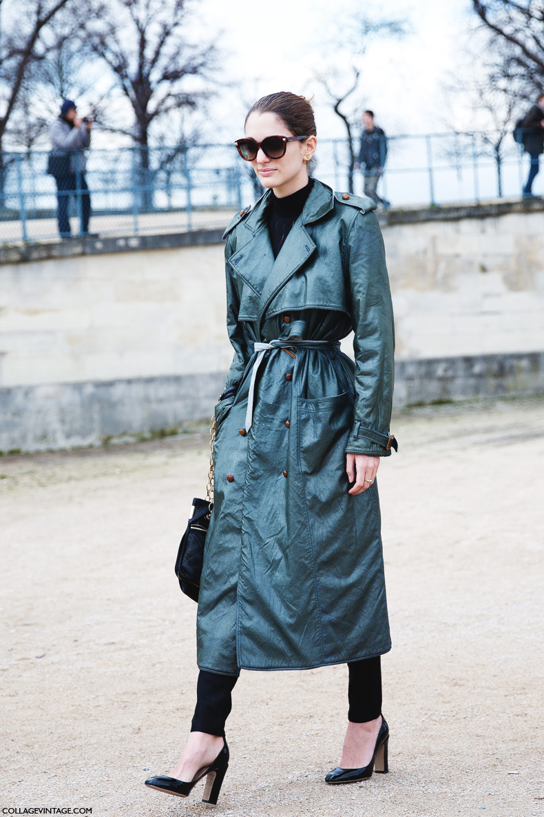 Paris_Fashion_Week_Fall_14-Street_Style-PFW-Sofia_Sanchez_Barrenechea-Trench-