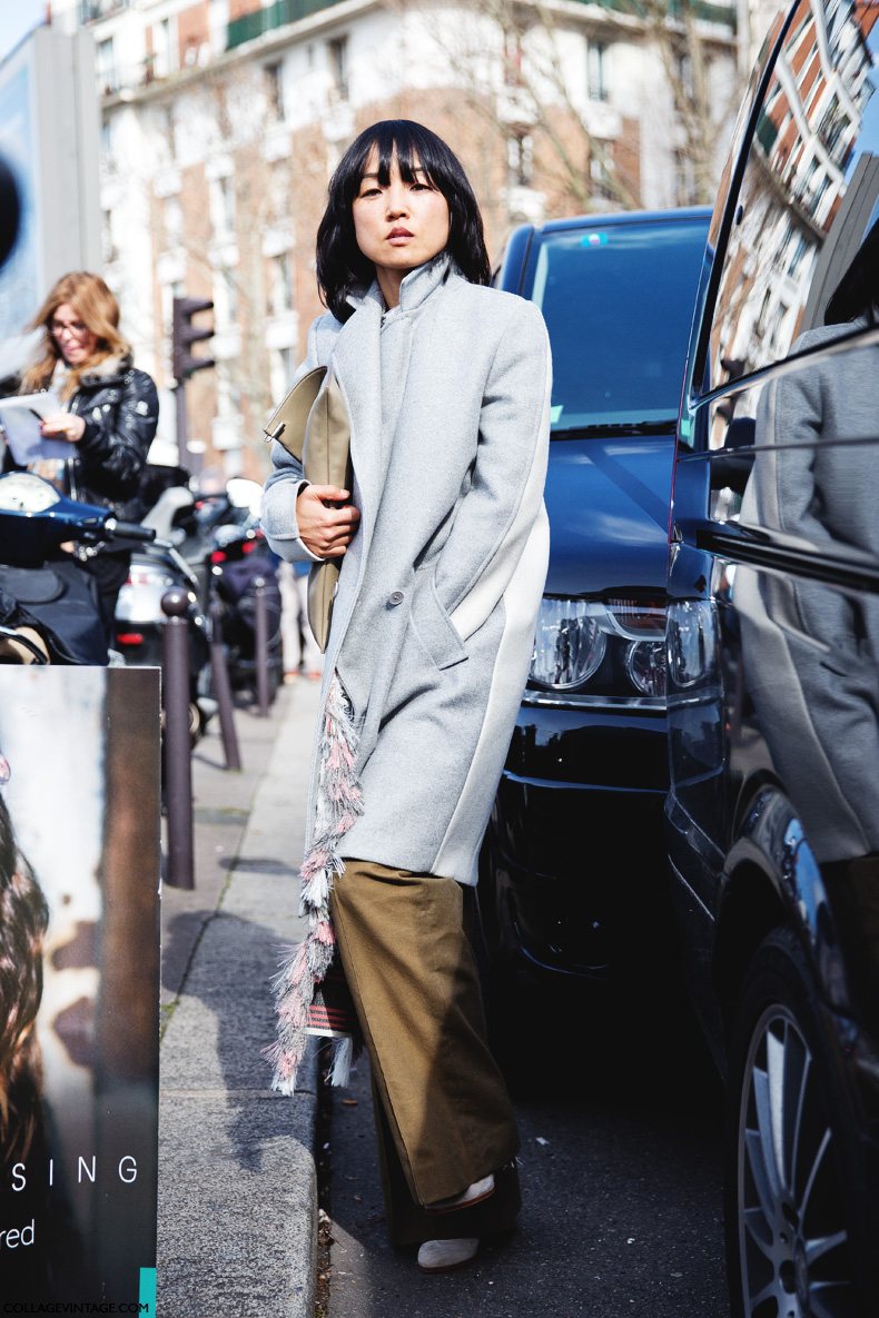 Paris_Fashion_Week_Fall_14-Street_Style-PFW-Celine-Grey_Coat-