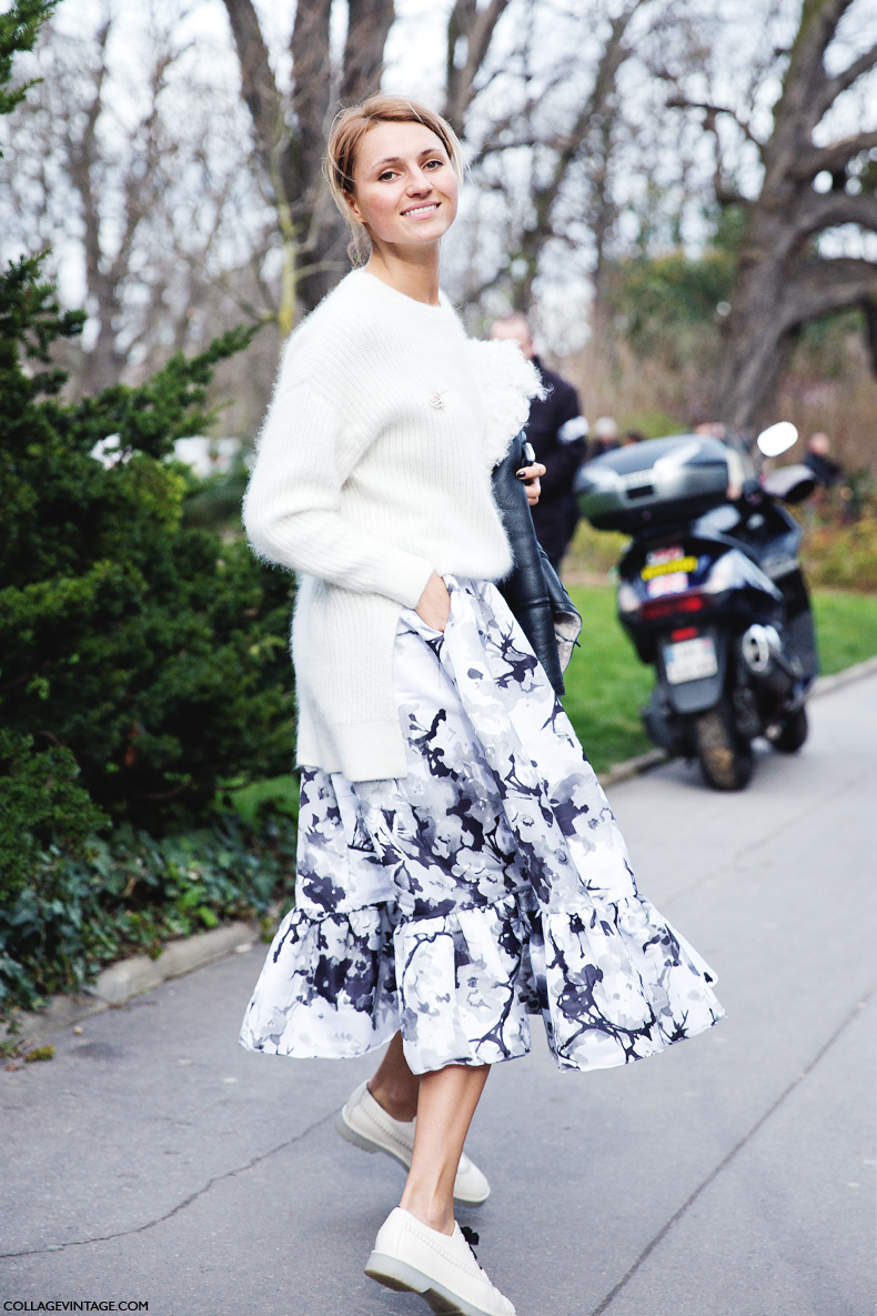 Paris_Fashion_Week_Fall_14-Street_Style-PFW-Floral_Skirt-