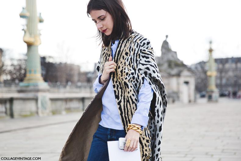 Paris_Fashion_Week_Fall_14-Street_Style-PFW-Natasha_Goldenberg-Leopard_Cape-Jeans-Valentino-