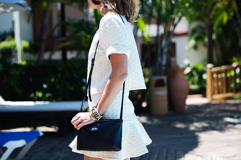 White_Outfit-Suit-Celine_Trio_Bag-Street_Style-10