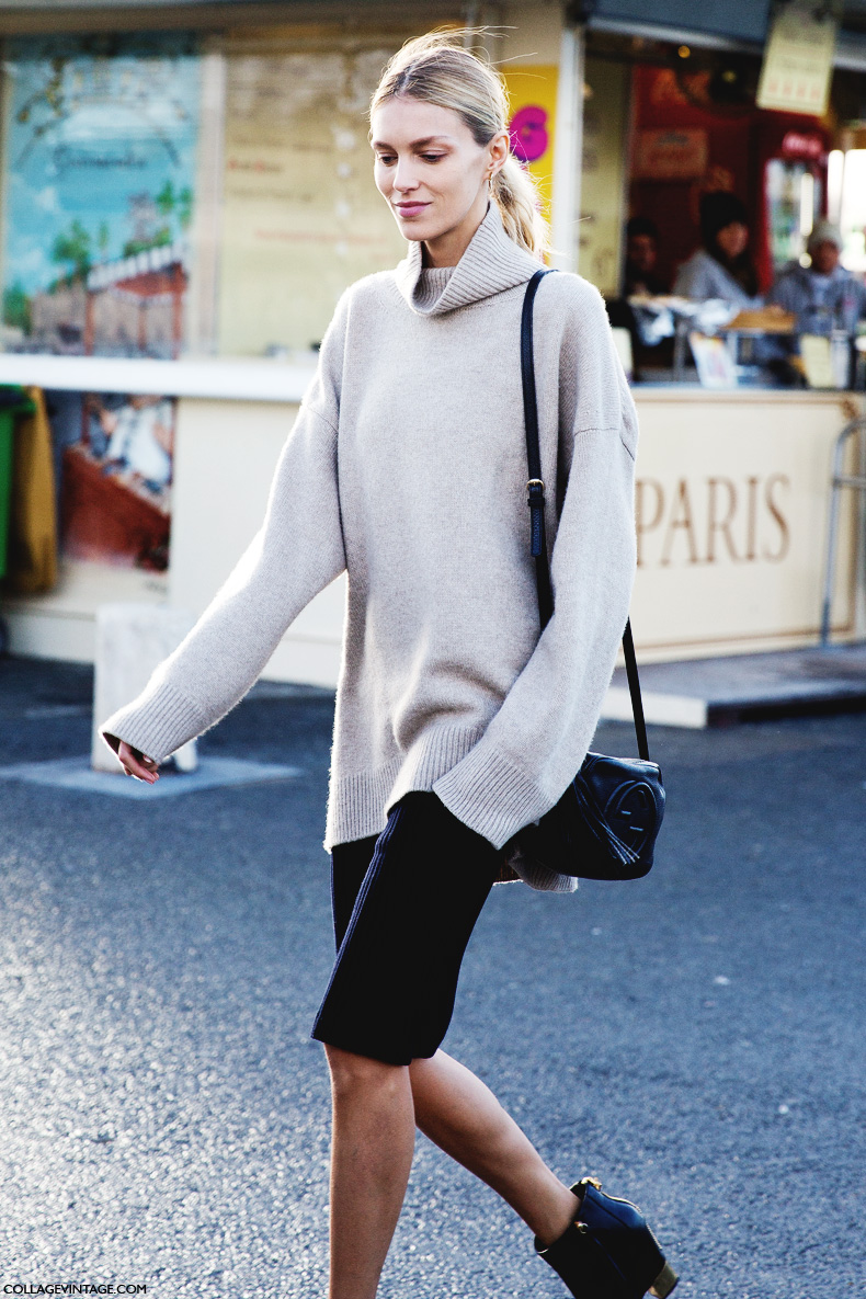 Paris_Fashion_Week_Fall_14-Street_Style-PFW-Anja_Rubik-Gucci_Disco_Bag-