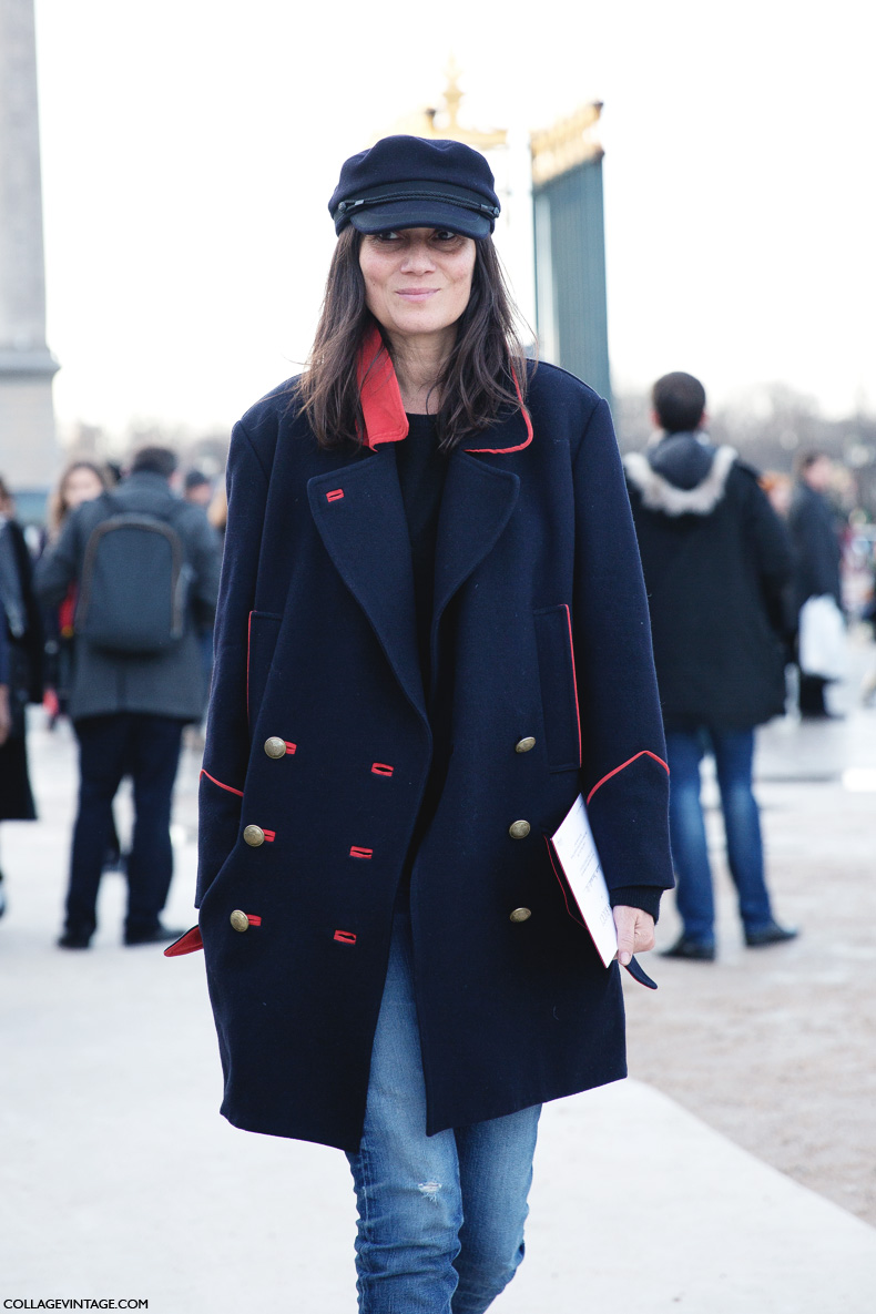 Paris_Fashion_Week_Fall_14-Street_Style-PFW-Emmanuel_Alt-Military_Coat-Cap-