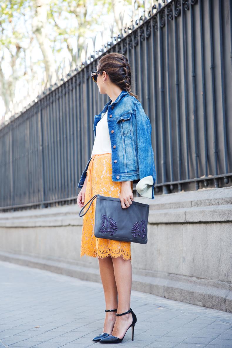 Twin_Set-Orange_Lace_Skirt-Denim_Jacket-Midi_Skirt-Street_Style-ouftit-22
