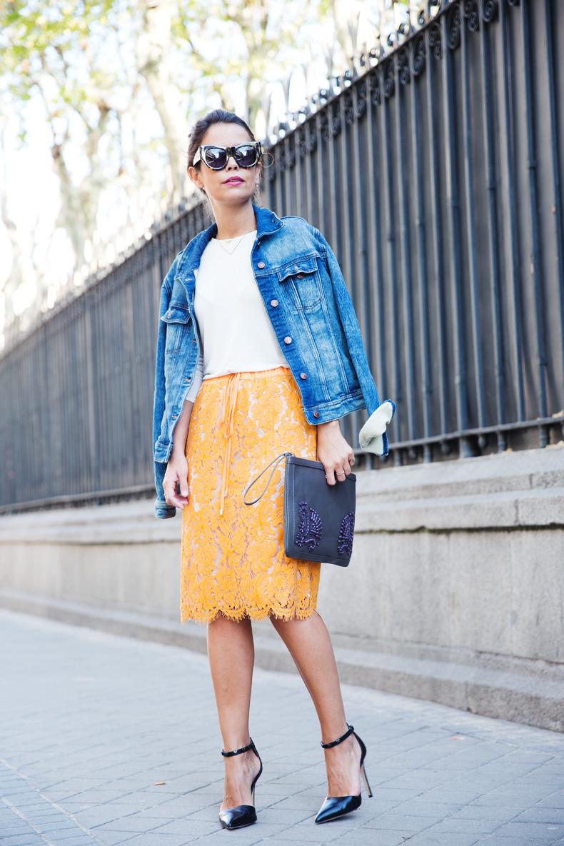 Twin_Set-Orange_Lace_Skirt-Denim_Jacket-Midi_Skirt-Street_Style-ouftit-23