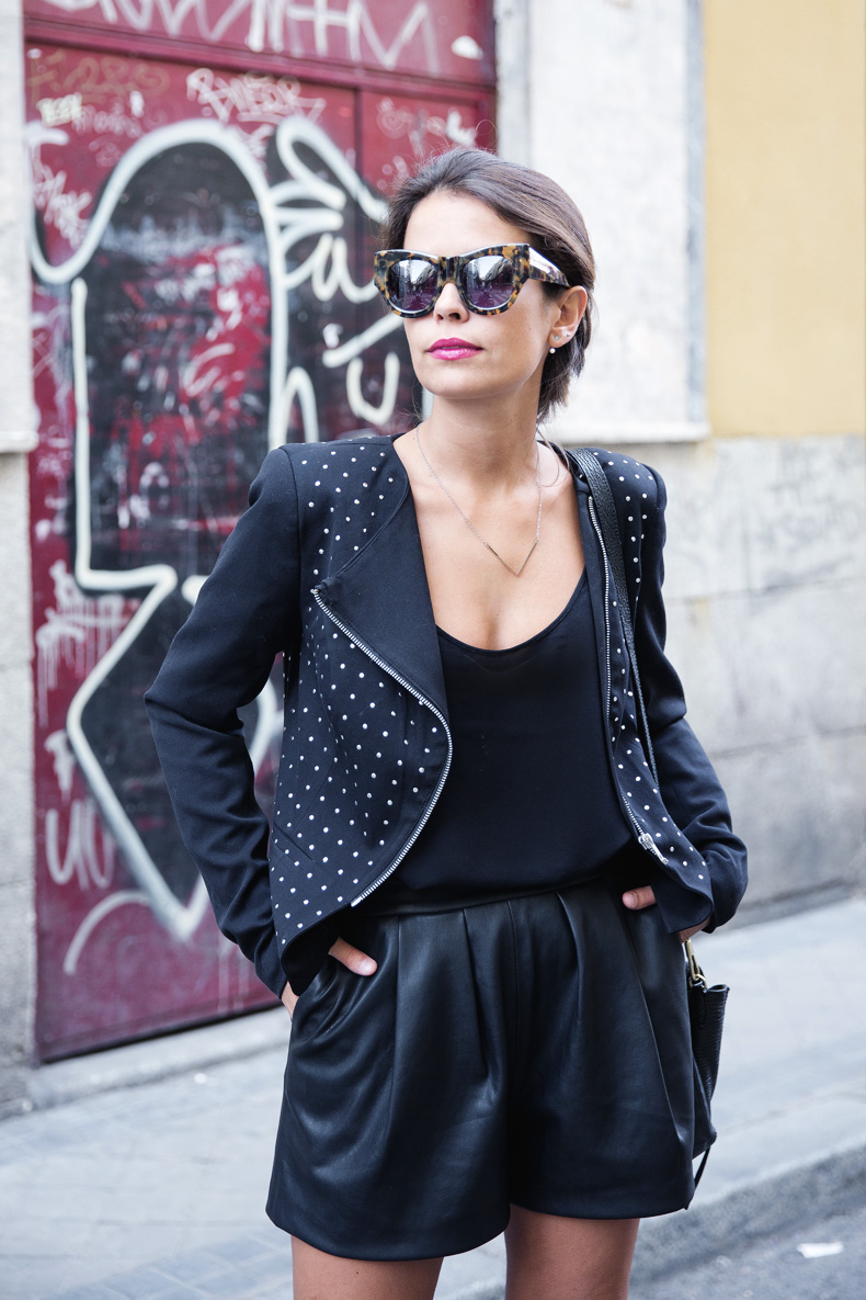 Black_Outfit-Studded_Jacket-Leather-Purificacion_Garcia_Shoes-Style-Street_Style-Collage_Vintage-