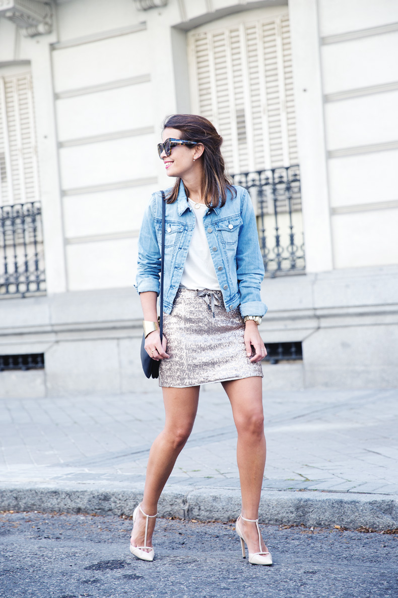 Sequined_Skirt-Denim_Jacket-Street_Style-outfit-29