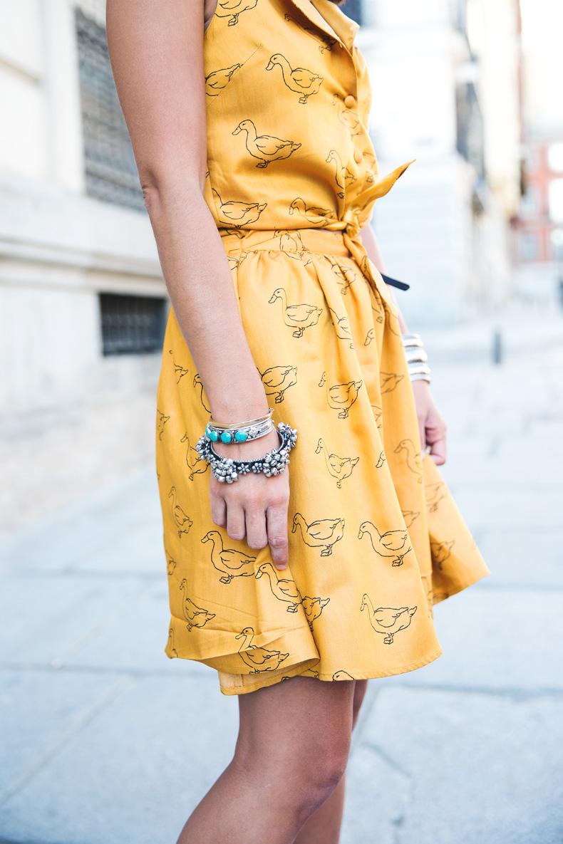 Pepa_Love_Dress-Yellow-Fishtail_Braid-Outfit-Street_Style-2