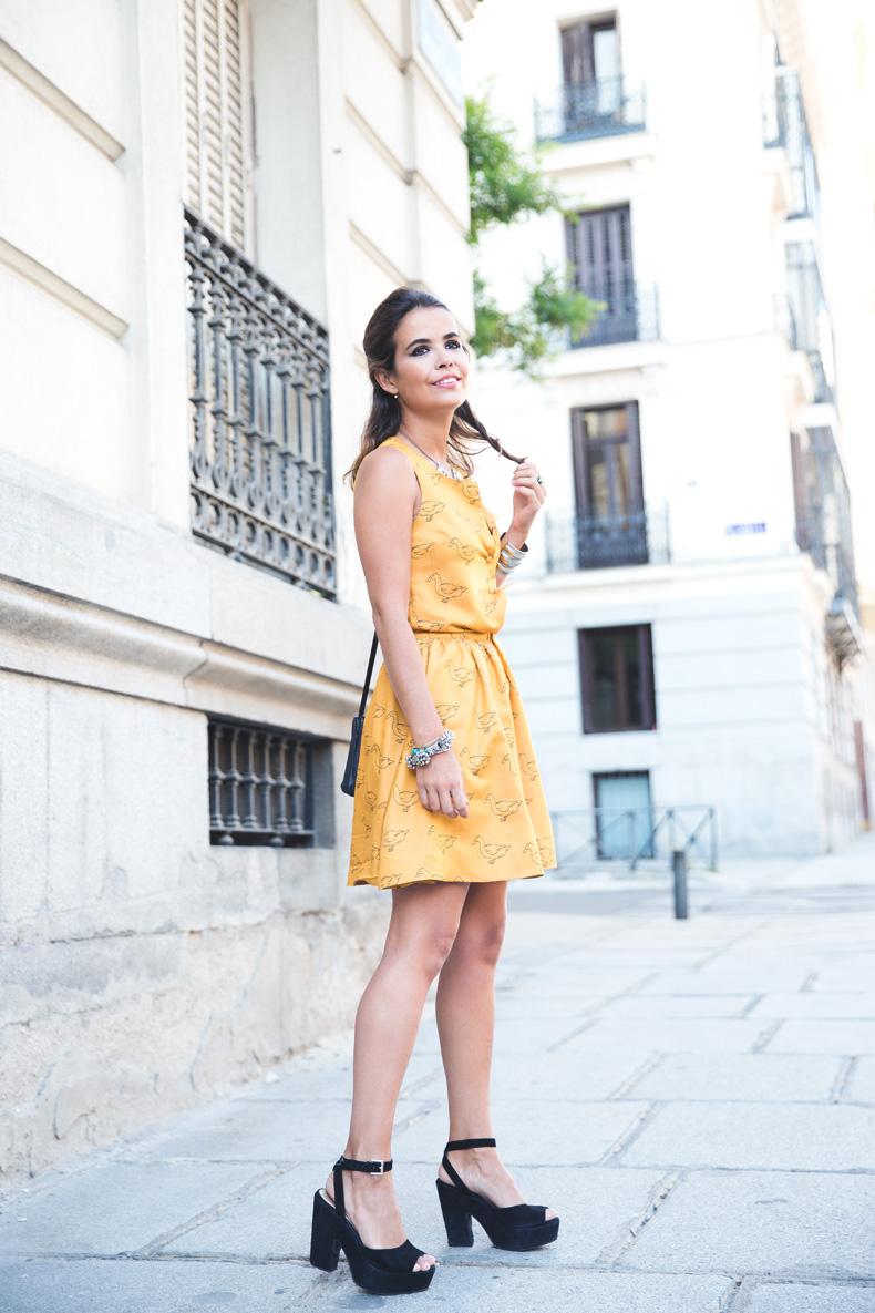 Pepa_Love_Dress-Yellow-Fishtail_Braid-Outfit-Street_Style-1