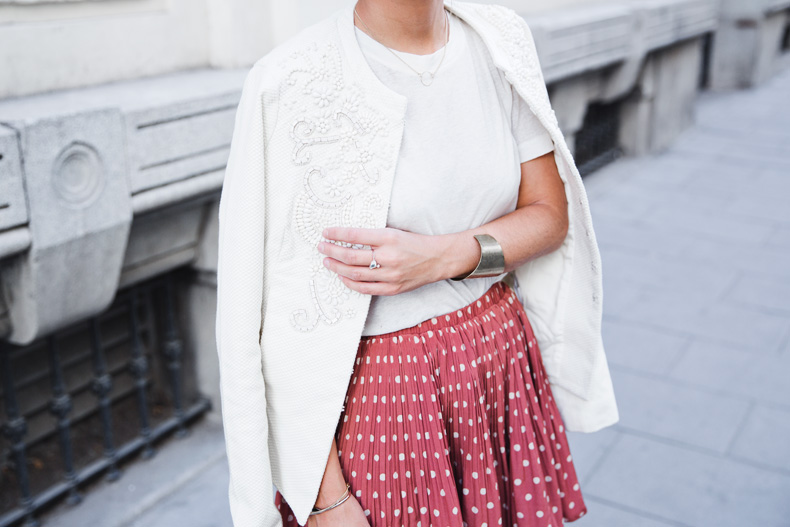 Embroidered_Jacket-Twin_Set-Polka_Dots_Skirt-Alexander_Wang_Sandals-Outfit-Street_Style-57